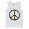 Cheetah Peace Tank Top