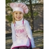 Chef Apron and Hat Set in Pink