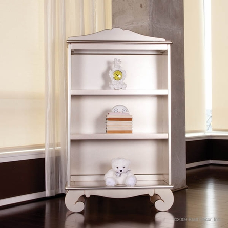 Chelsea Bookcase in Antique Silver