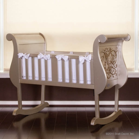 Chelsea Cradle in Antique Silver
