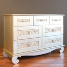 Chelsea Dresser in Antique Silver