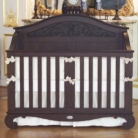 Chelsea Lifetime Crib in Espresso