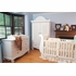 Chelsea Convertible Sleigh Crib in White