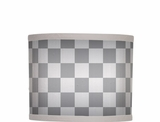 Chequered Print Max Shade $(+68.00)