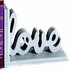 Cherish and Love Letter Bookends