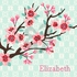 Cherry Blossom Branch Canvas Wall Art