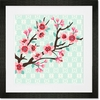 Cherry Blossom Branch Framed Art Print