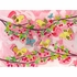 Cherry Tree Birdies Canvas Reproduction