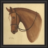 Chestnut Horse Framed Wall Art