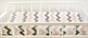Chevron Baby Changing Pad Cover in Pink