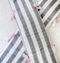 Chevron Baby Striped Crib Bumper in Pink and Gray