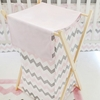 Chevron Baby Hamper in Pink