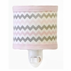 Chevron Baby Night Light in Pink
