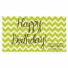 Chevron Birthday Personalized Placemat