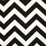 Chevron Black - Print Fabric