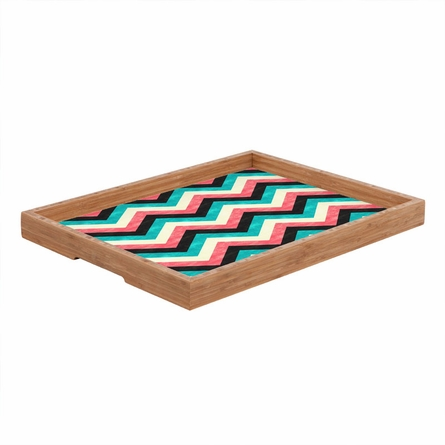 Chevron Bold Rectangle Tray