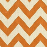 Chevron Chic Papaya (Rayon/Cotton/Poly)
