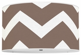 Chevron Chocolate Brown