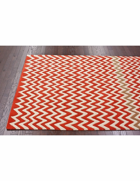 Chevron Daredevil Rug
