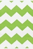 Chevron Indoor/Outdoor Rug in Apple and White