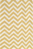 Chevron Yellow Indoor/Outdoor Rug