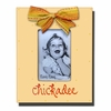 Chickadee Butter Picture Frame