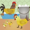 Chicken Coop Canvas Wall Art