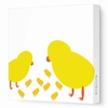 Chicks Canvas Wall Art