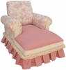 Child Club Chaise Lounge - Toile Pink