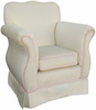 Child Empire Chair - Aspen Cream