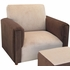 Child Modern Chair - Classic Brown Velvet