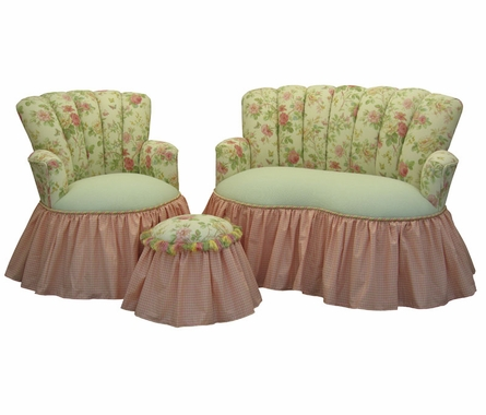 Child Princess Loveseat - English Bouquet