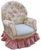Child Queen Anne Chair - English Bouquet