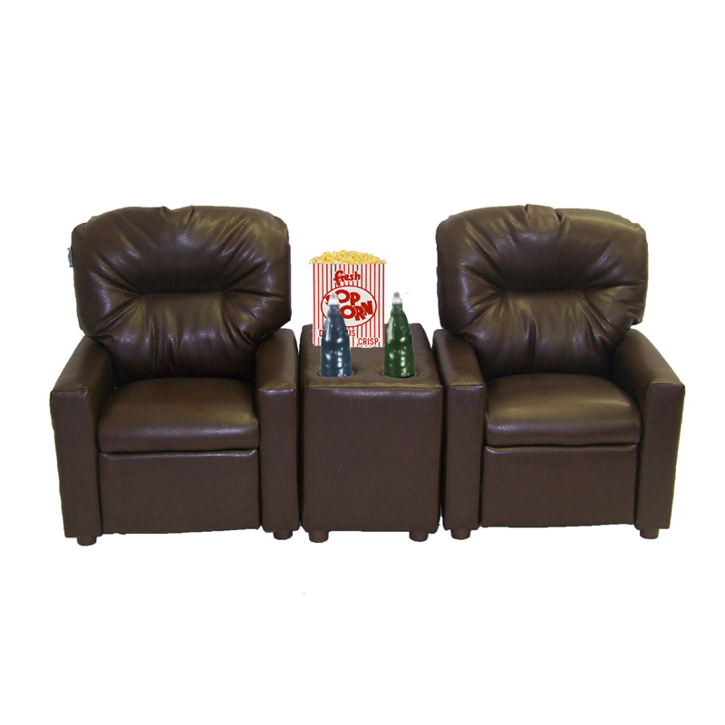 Child Recliner Chair Theater Seating By Dozydotes