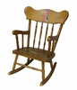 Child's Rocking Chair with Classic Enchanted Forest Motif