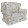 Child Wingback Loveseat - Provence