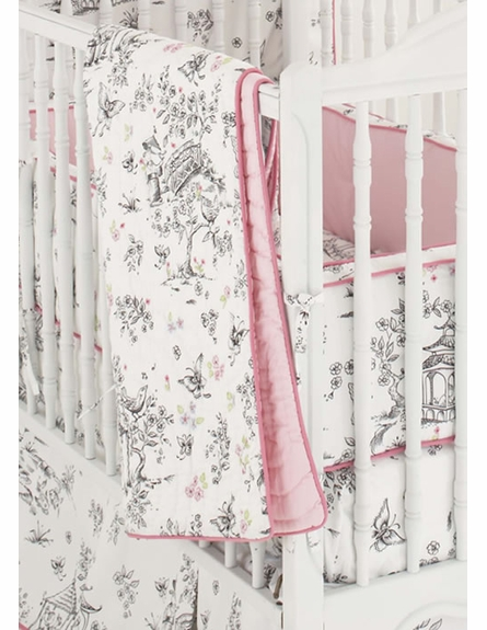 China Doll Crib Bedding Set