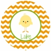 Chirp Personalized Melamine Plate