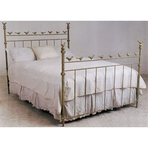 Chirping Birds Iron Bed By Corsican Iron Furniture