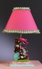 Chocolate Flower Bunny Lamp