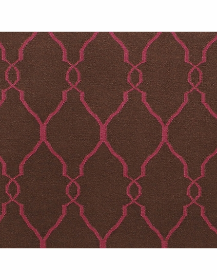 Chocolate & Raspberry Fallon Rug