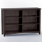 Chocolate School House Horizontal Bookcase