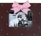 Chocolate Sprinkles Picture Frame - Rose