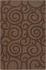 Chocolate Swirls Jaipur Rug