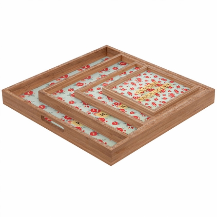 Choose Happiness Square Tray