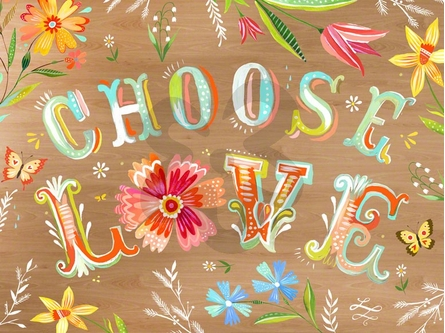 Choose Love Canvas Wall Art