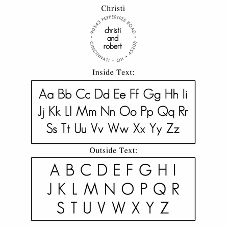 Christi Personalized Self-Inking Stamp