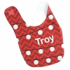 Christmas Lights Personalized Bib