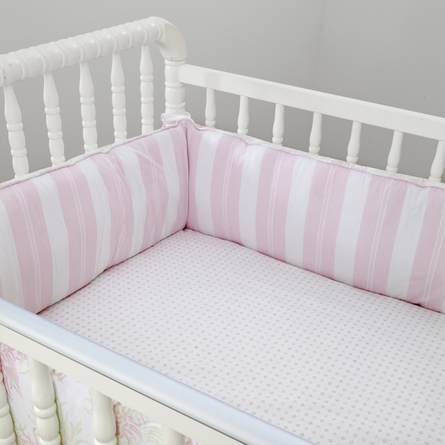 Chrysanthemum Sage 3-Piece Crib Bedding Set