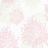Chrysanthemum Sage Reversible Crib Quilt